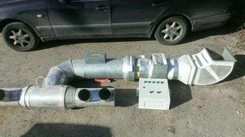 Продам приточную установку в сборе с автоматикой 9 кВт/2500 м2/ч