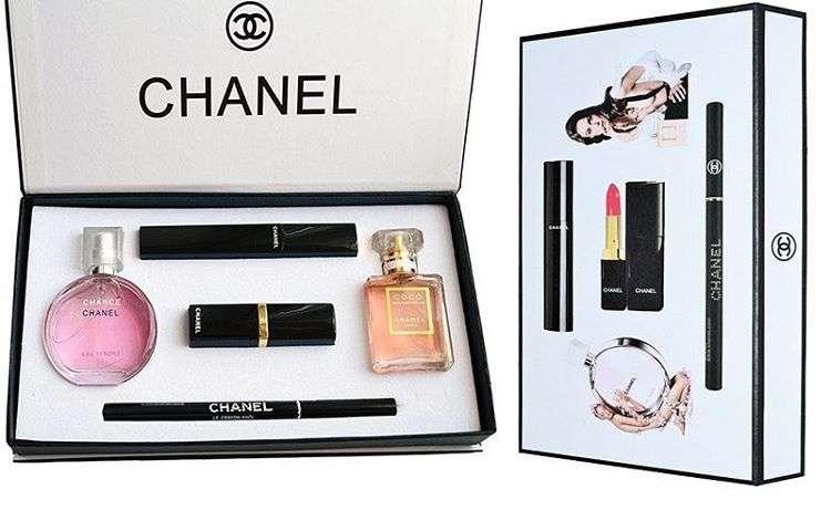 Набор косметики Chanel 5в1