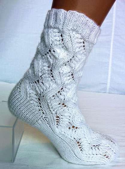 Шкарпетки акрилові. Ручна робота
