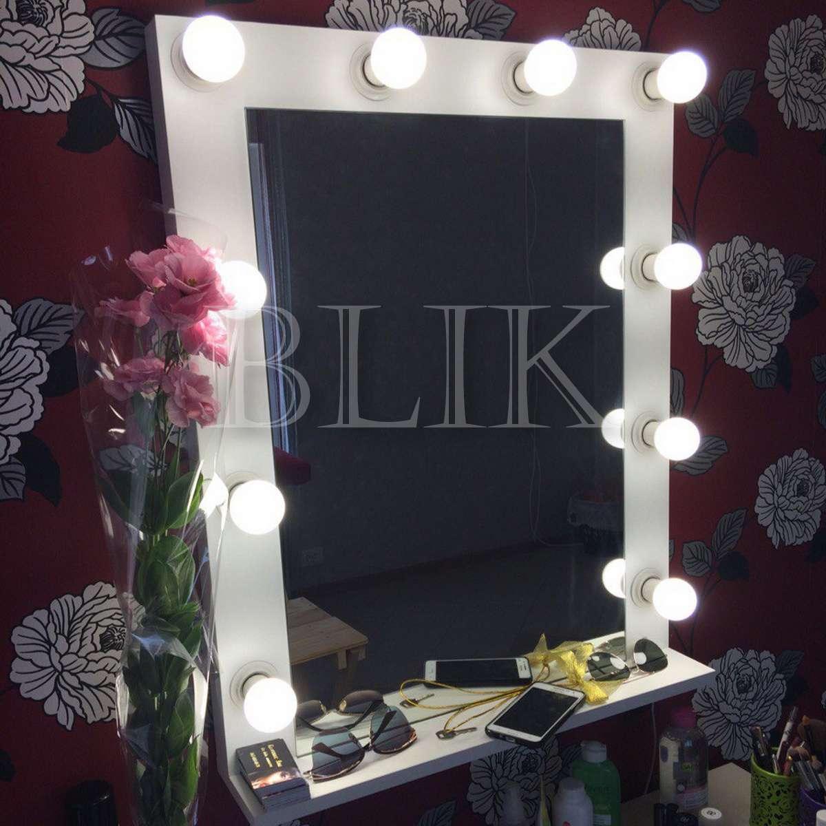 зеркало для макияжа (зеркало с лампочками)