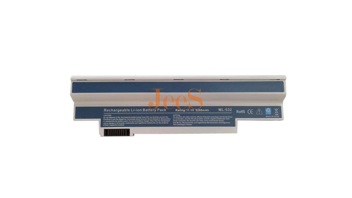 Аккумулятор / батарея Acer UM09H31 Aspire one 532h белый 5200mAh