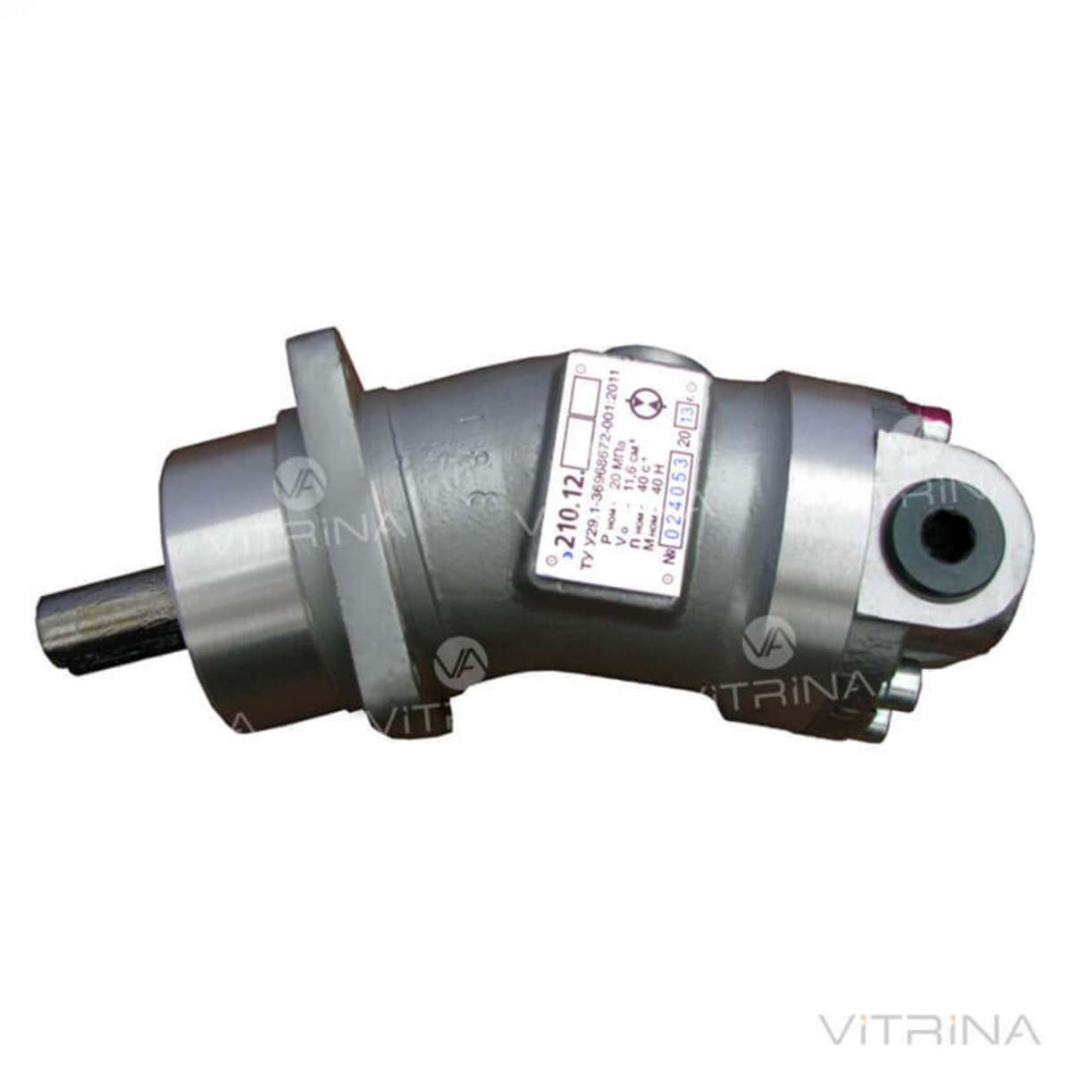 Гидромотор аксиально-поршневой 210Е.12.00 | шпоночный вал, реверс