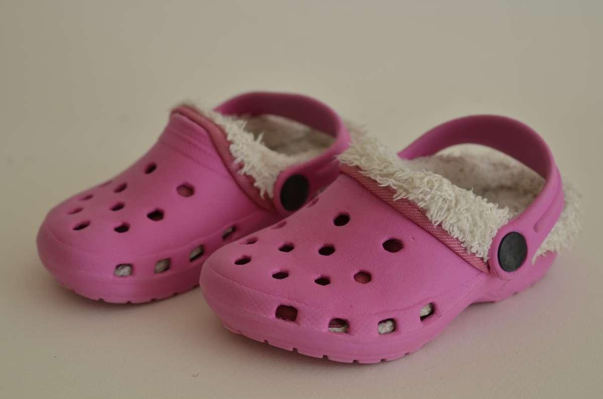 Кроксы для девочки.