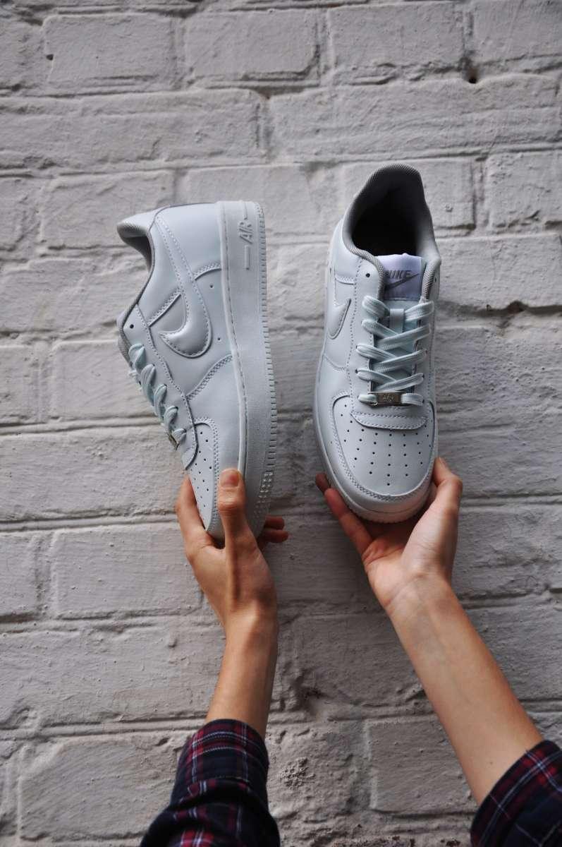 Кроссовки белые мужские (кросівки) Nike Air Force low 41 42 43 44 45 4