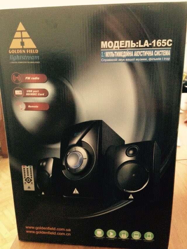 Продам Golden Field LA165C Black 15W+2*11.5W MP3 player+FM+Блютуз