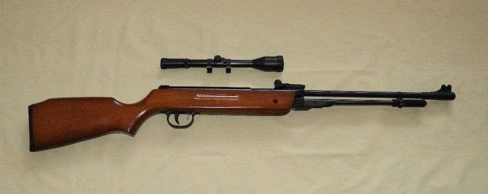 Пневматическая винтовка TYTAN (Kandar) B3-3 дерево + оптика