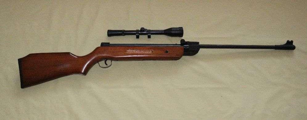 Пневматическая винтовка TYTAN (Kandar) B2-4 дерево+ оптический прицел