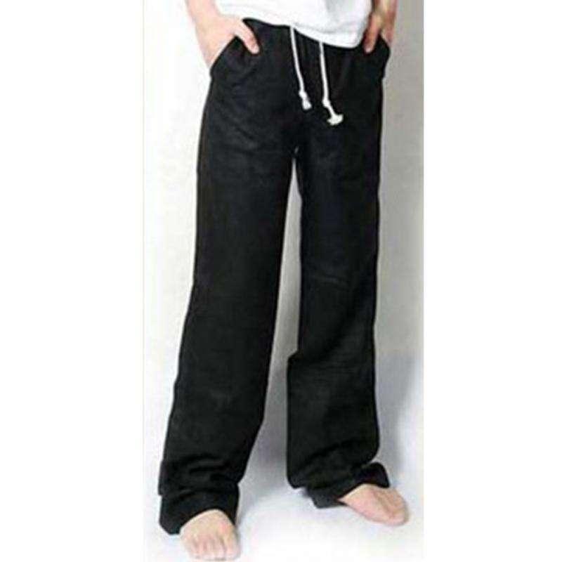 Для мужчин брюки Повседневное льняные