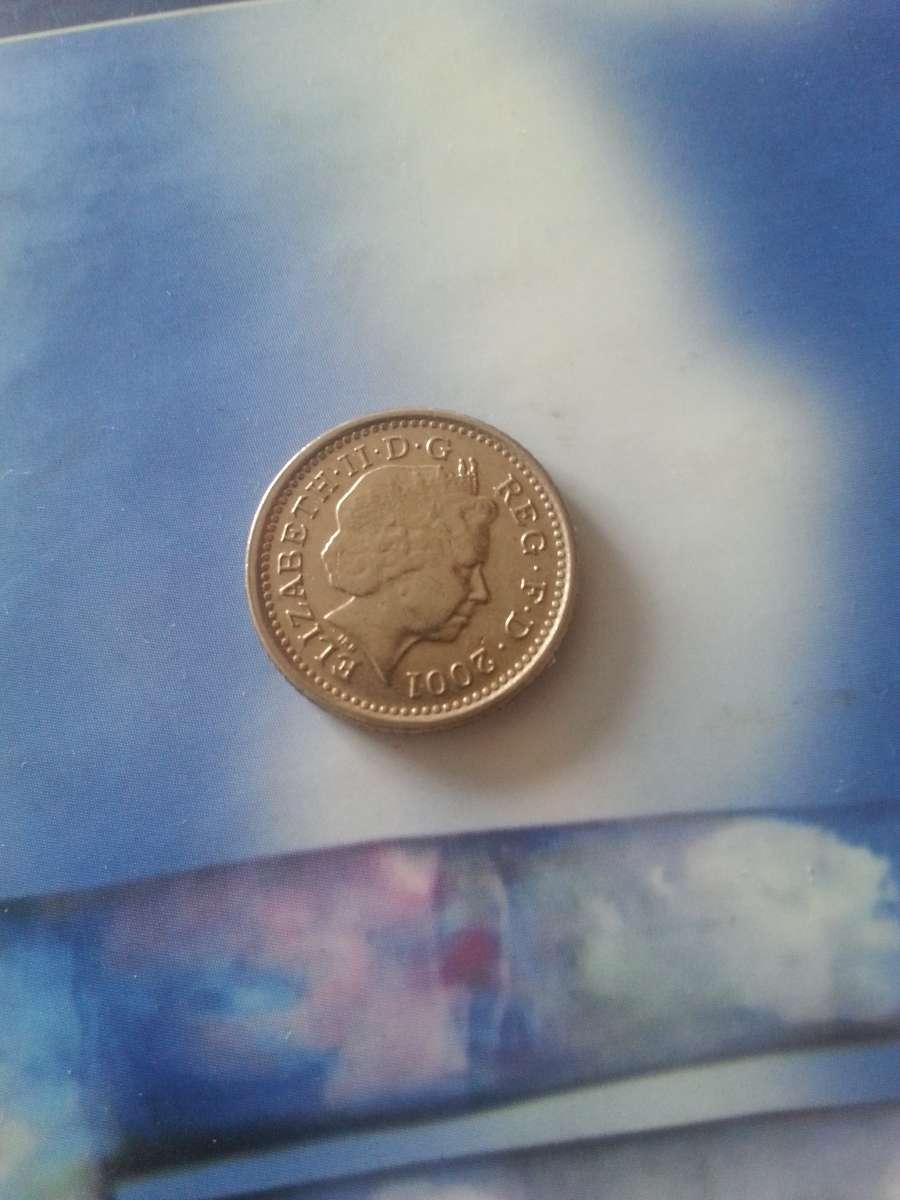 Велика Британія 5 пенсів, 2001