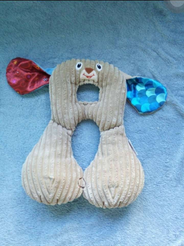 Подголовник Валик Дорожная подушка в коляску или авто для младенца