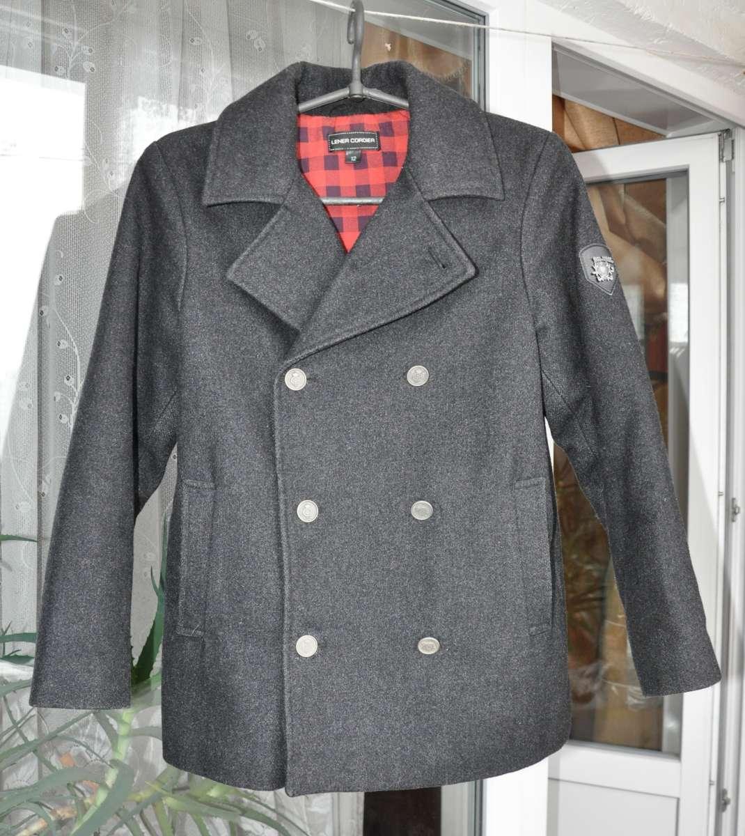 Стильное Полупальто пиджак на 10-11 лет