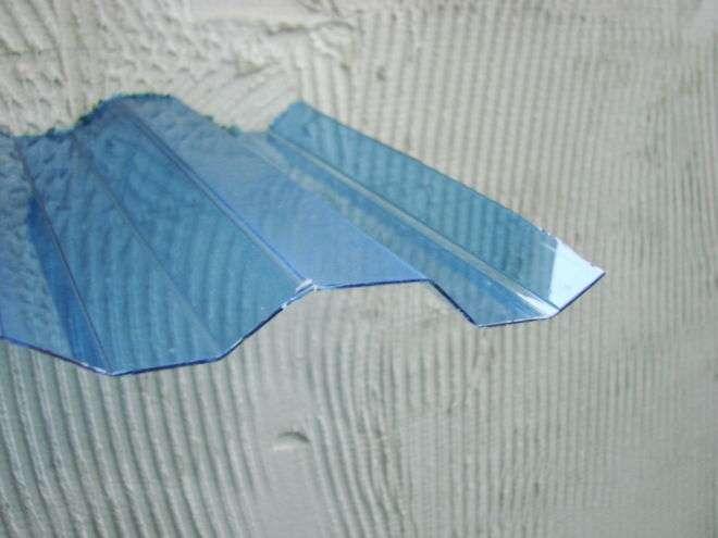Профільований монолітний полікарбонат.Купити хвилястий шифер.