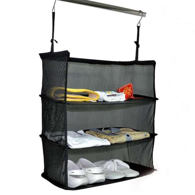 Подвесной органайзер для вещей Shelves To Go (органайзер для чемодана)