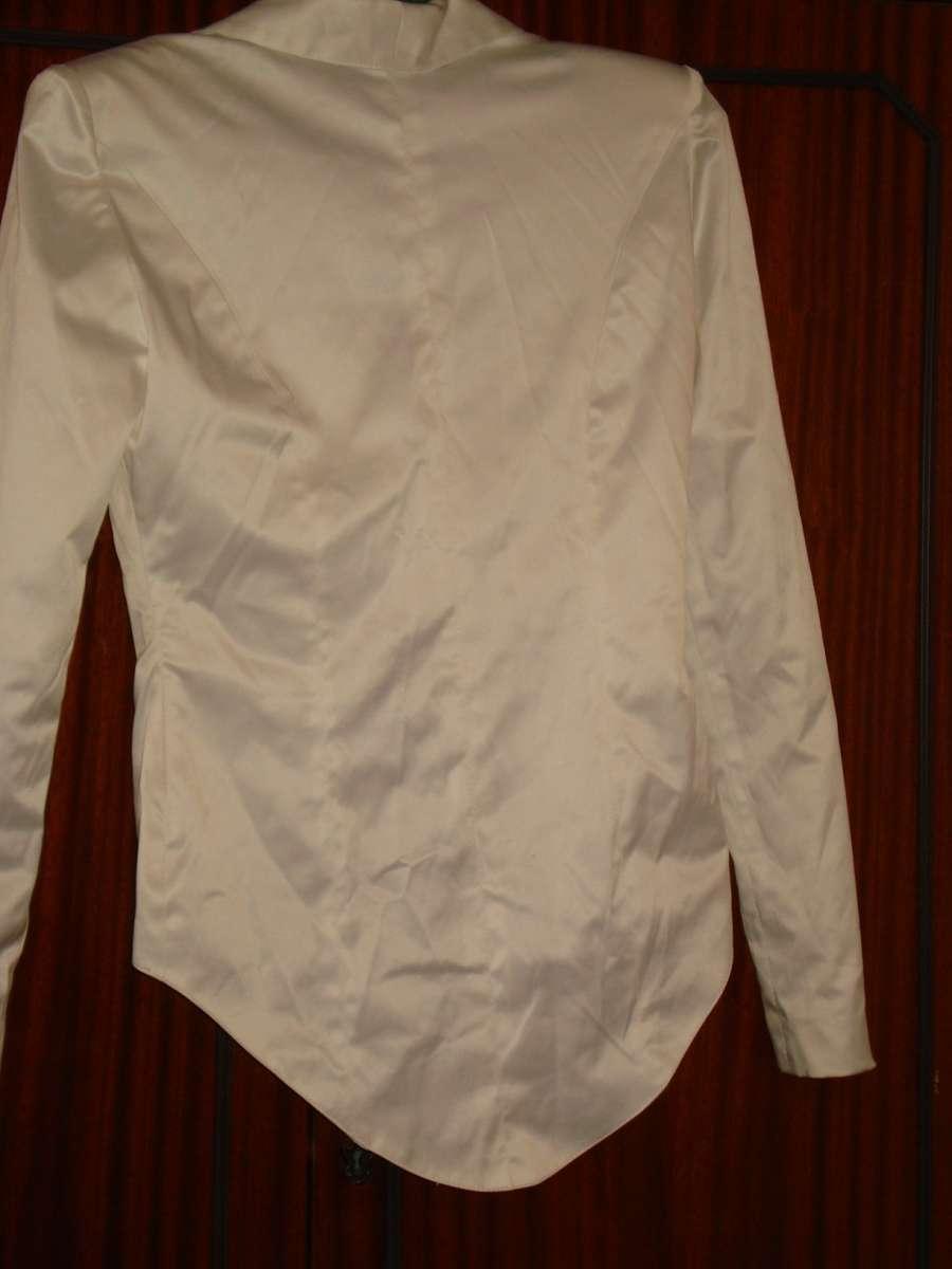 Пиджак женский летний белый
