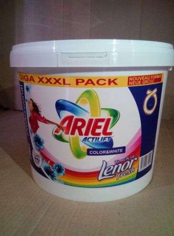 Стиральный порошок Ariel Actilift + Lenor 10,4 кг / 155 стирок