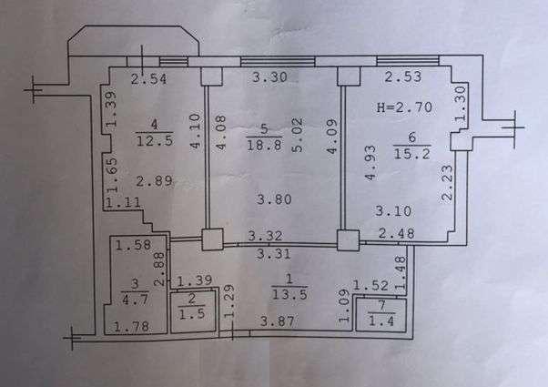 Продам 2-х комнатную квартиру в новом доме на пос. Котовского!