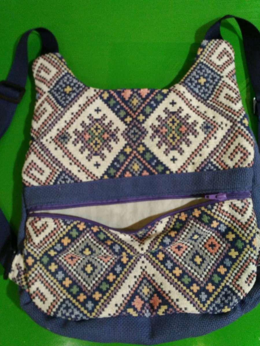 Рюкзак украинский орнамент hand made