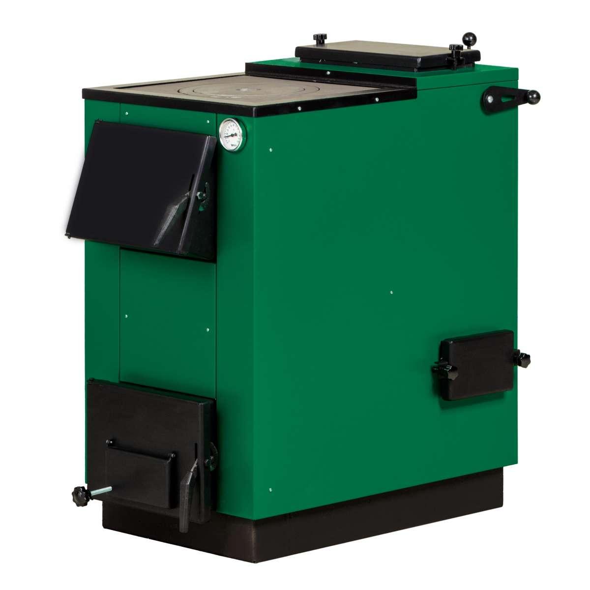 Комбинированный твердотопливный котел MaxiTerm LUX -22П 22 кВт