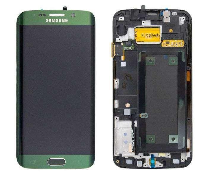 Samsung G925F Galaxy S6 EDGE, с сенсорным экраном, оригинал