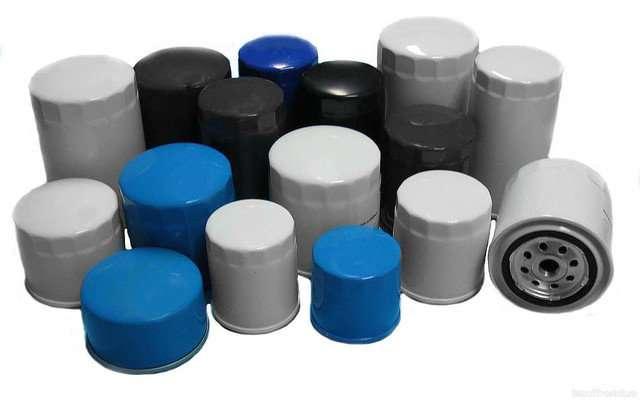 Масляные фильтры для японских вилочных погрузчиков.