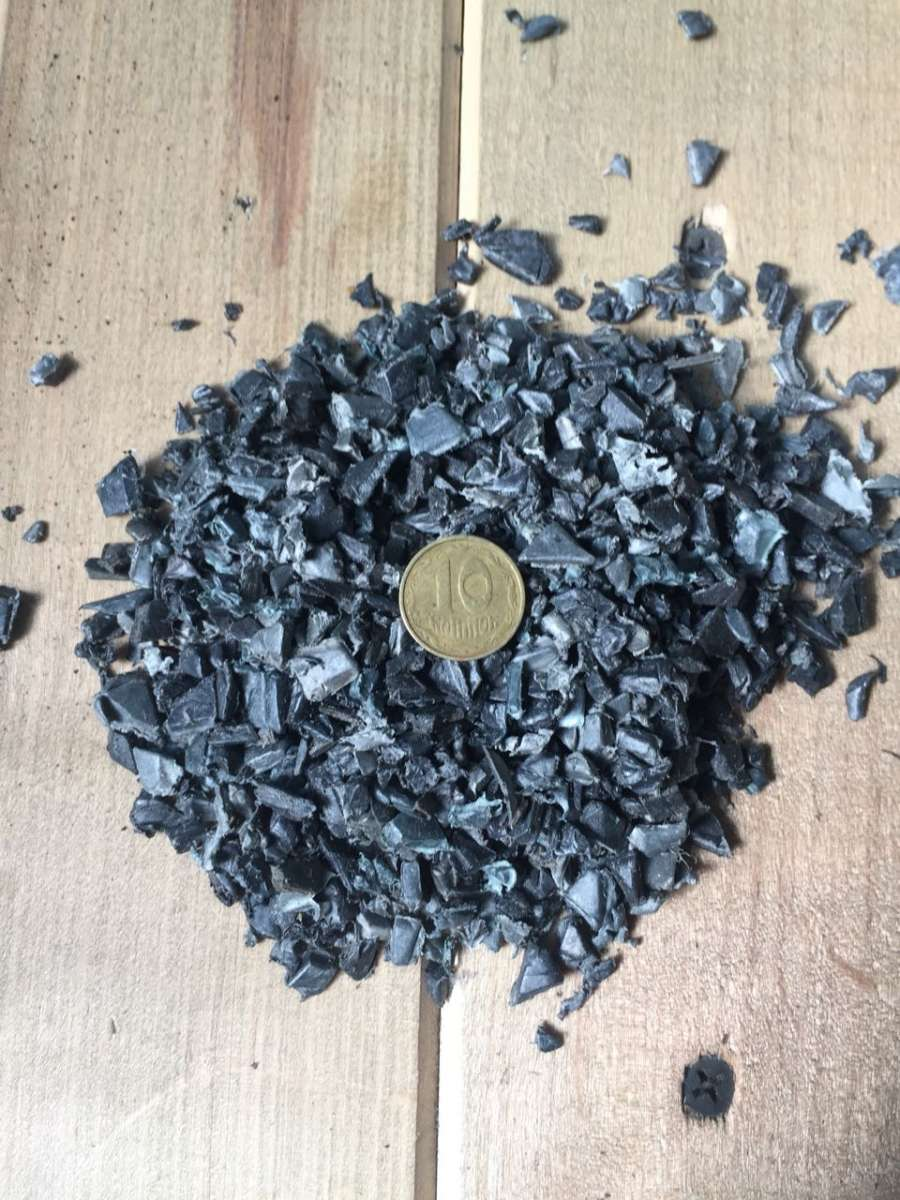 Продам дробленый ПНД (HDPE) черный