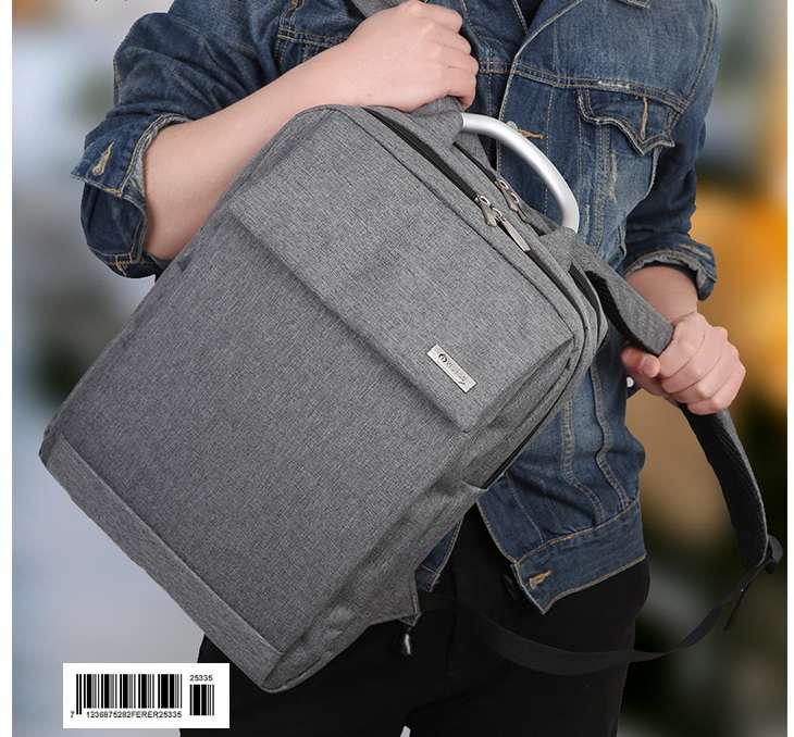 Рюкзак деловой молодежный студенческий школьный для ноутбука и вещей