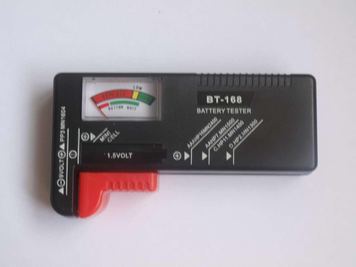 Универсальный тестер заряда батареек