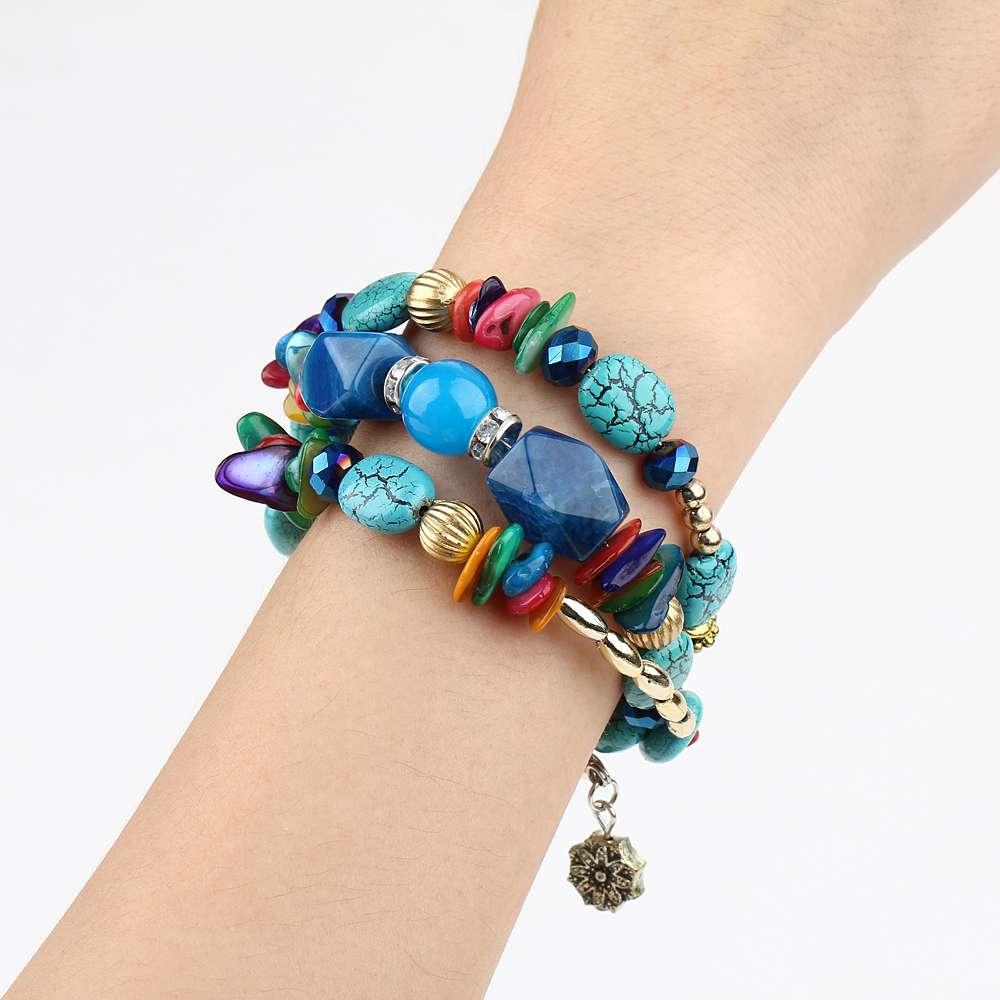 яскравий браслет в шести кольорах!!!
