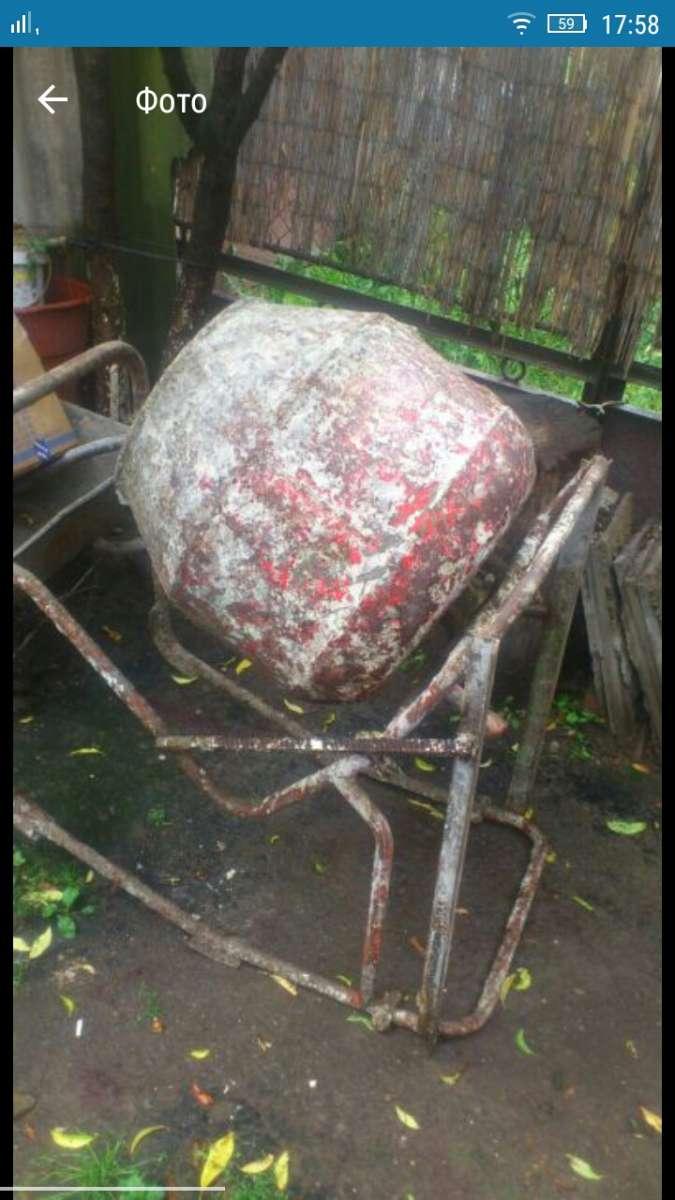 бетономішалка ручна