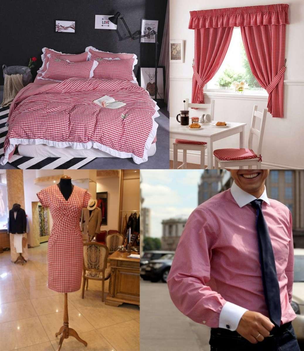 Универсальная ткань новая для пошива одежды,штор,белья,скатертей,предм