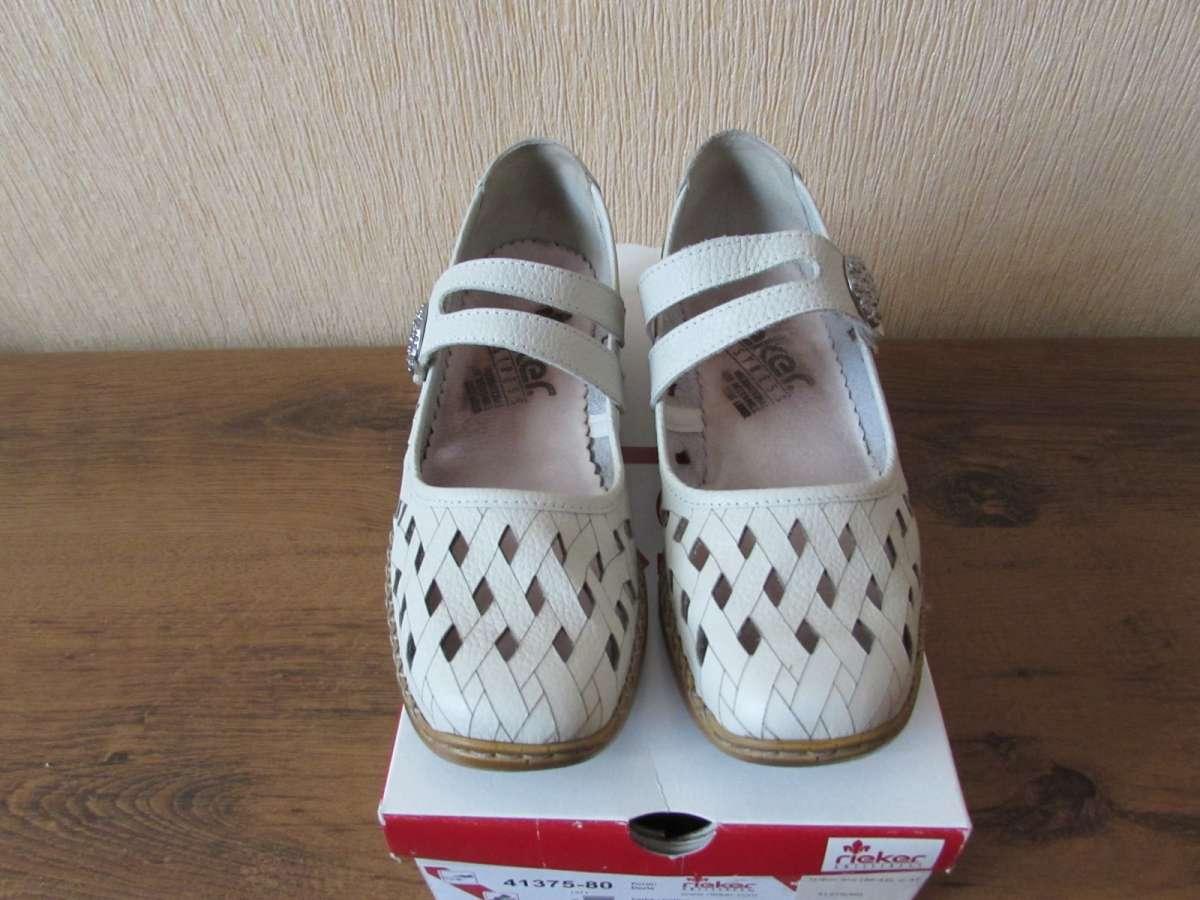 8d16e7ea7 Туфли кожаные женские Rieker Antistress Германия: 950 грн - Мода и ...