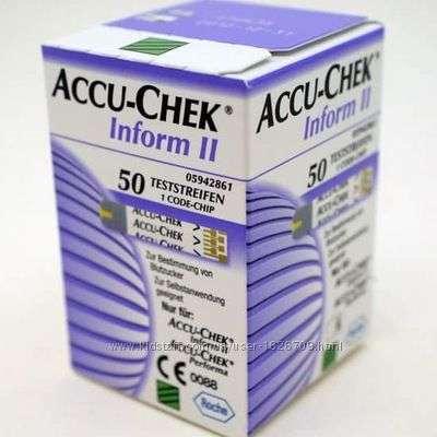 Продам тест полоски Акку чек информ Accu chek inform