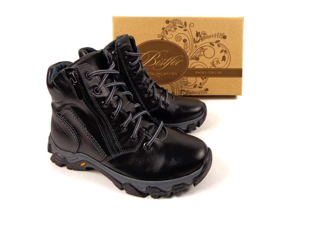 Кожаные зимние ботинки Тм Bistfor 5e80a8d791912