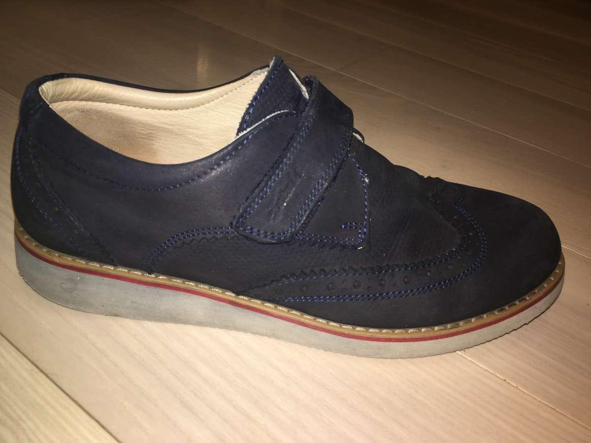 Школьные туфли на мальчика 39р