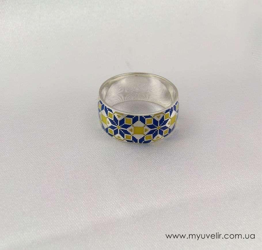 Кольцо с вышиванкой