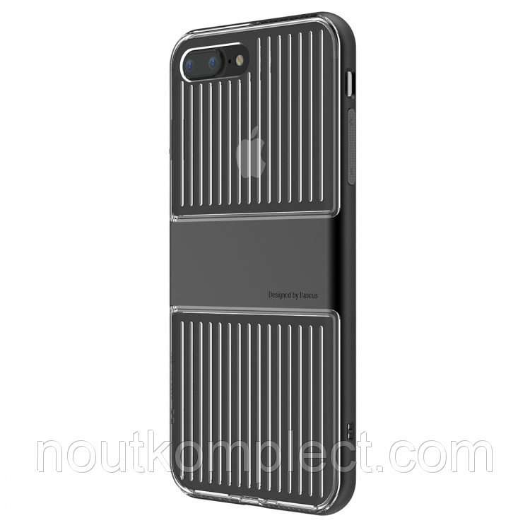 Чехол Baseus Travel Case для Apple iPhone 7 Plus Black (WIAPIPH7P-ALX0