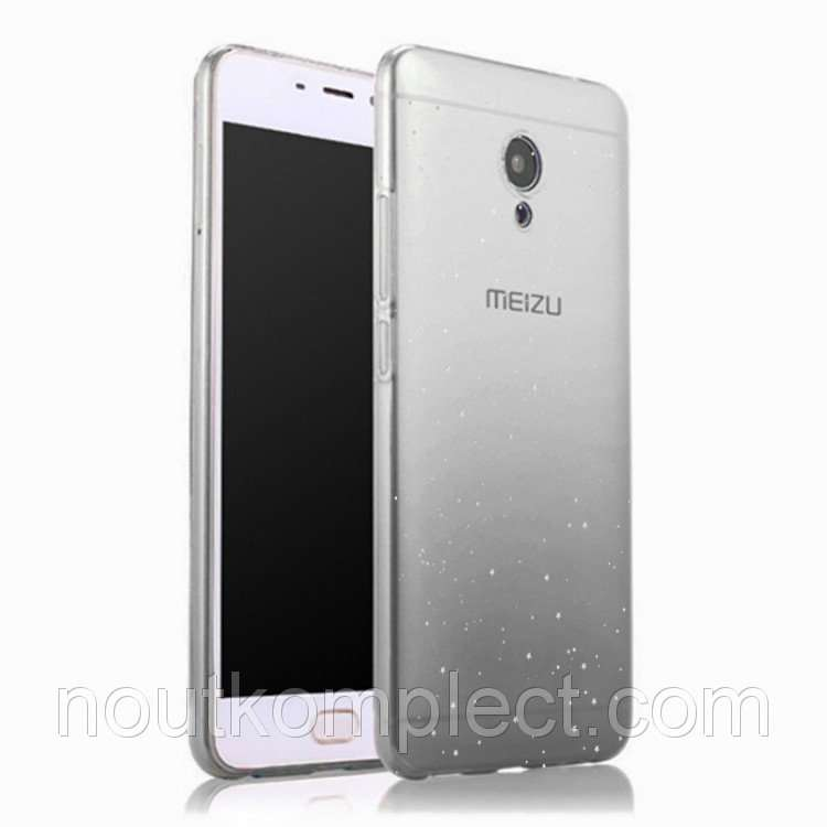Чехол PC Glaze Cover для Meizu M5S Dark Grey (PC-001567)