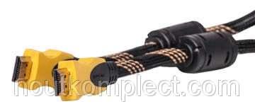 Видео кабель PowerPlant HDMI - HDMI, 5м, позолоченные коннекторы, 1.3V