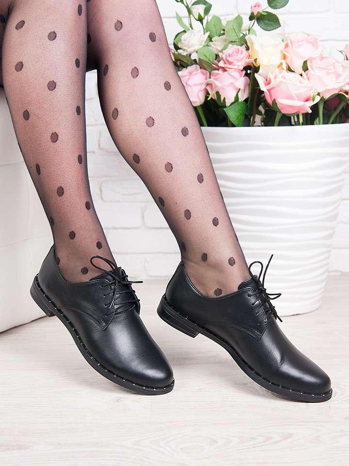 Туфли натуральная кожа шнурки 37