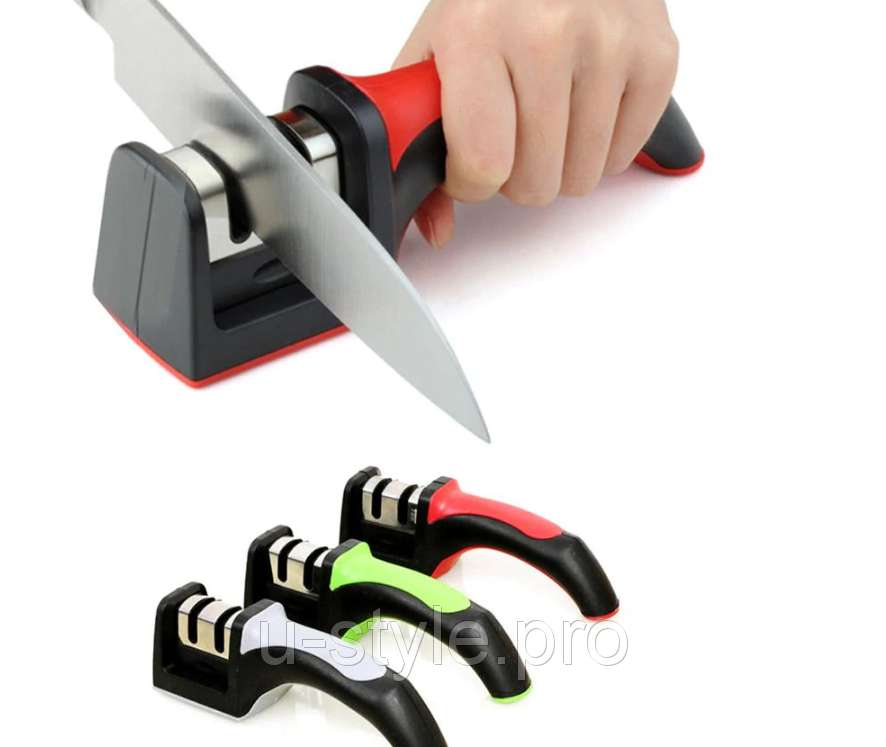 Точилка для ножей, 2 режима заточки!