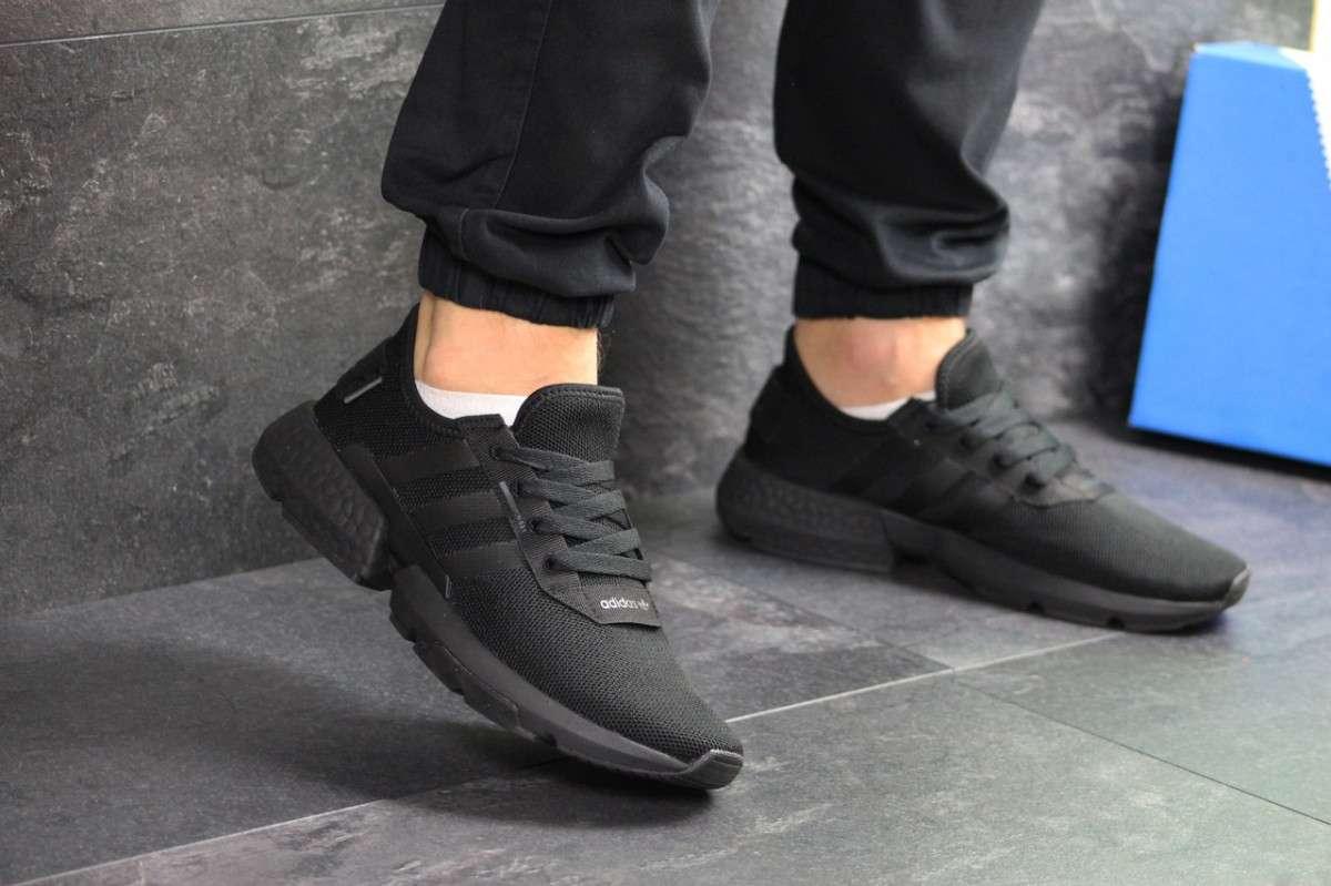 Мужские кроссовки черные Adidas POD-S3.1 7541