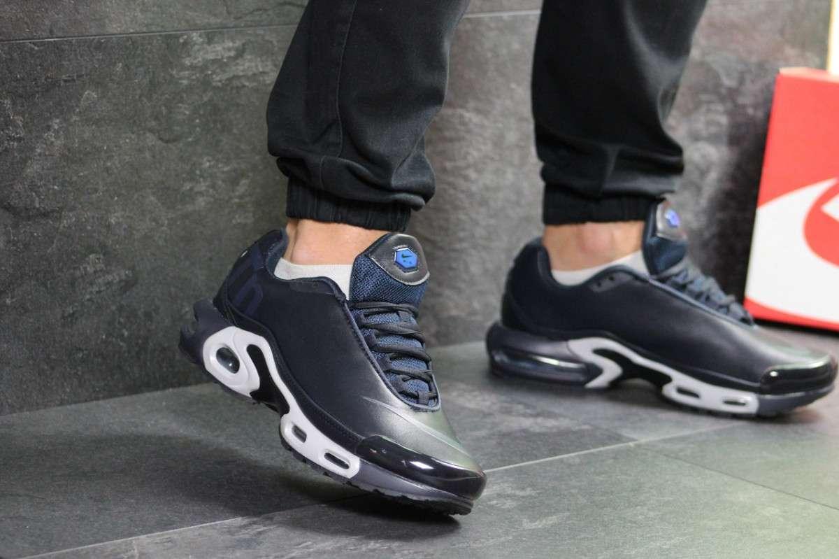 40a16fa0 Мужские кроссовки темно синие Nike Air Max TN 7264: 1 013 грн - Мода ...