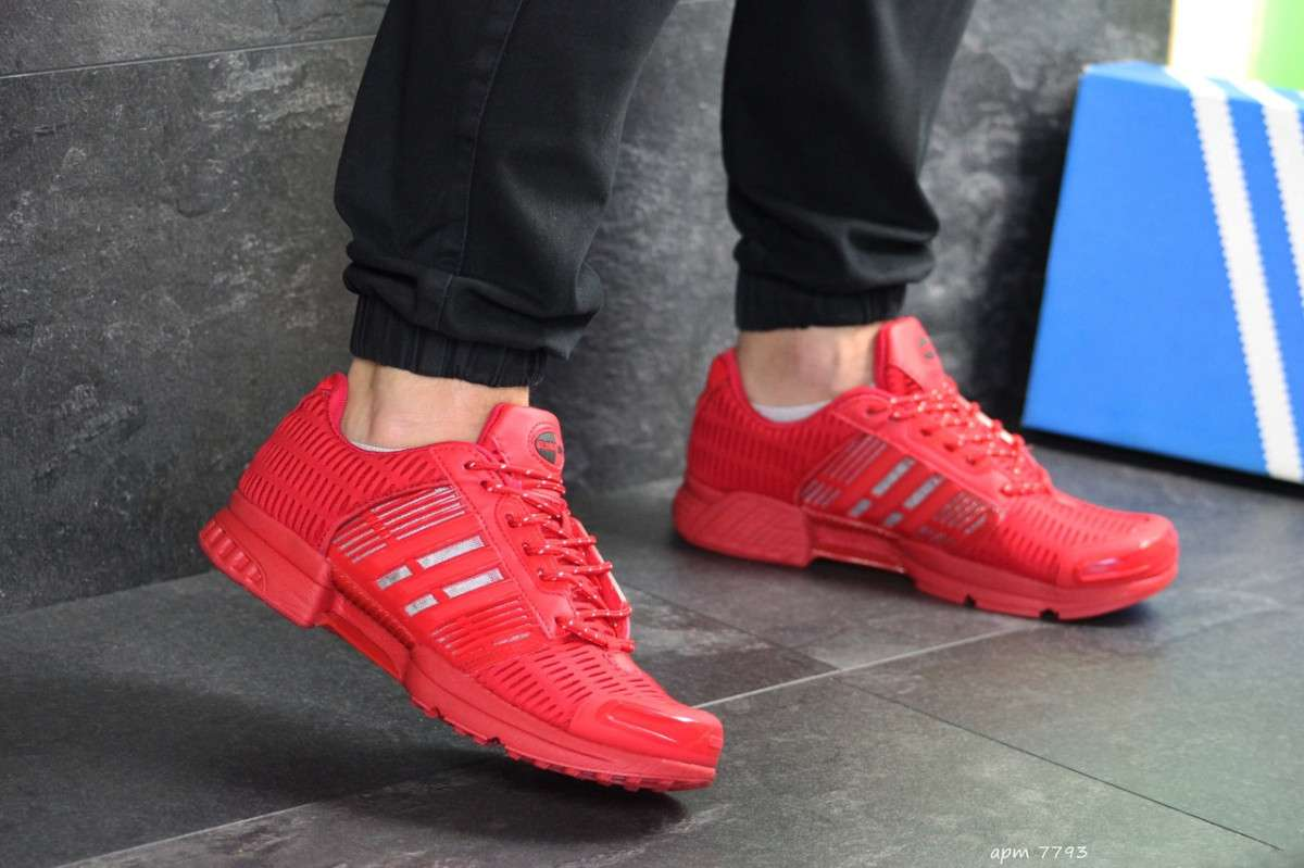 83168c02 Мужские кроссовки красные Adidas Clima Cool 7793: 1 001 грн - Мода и ...