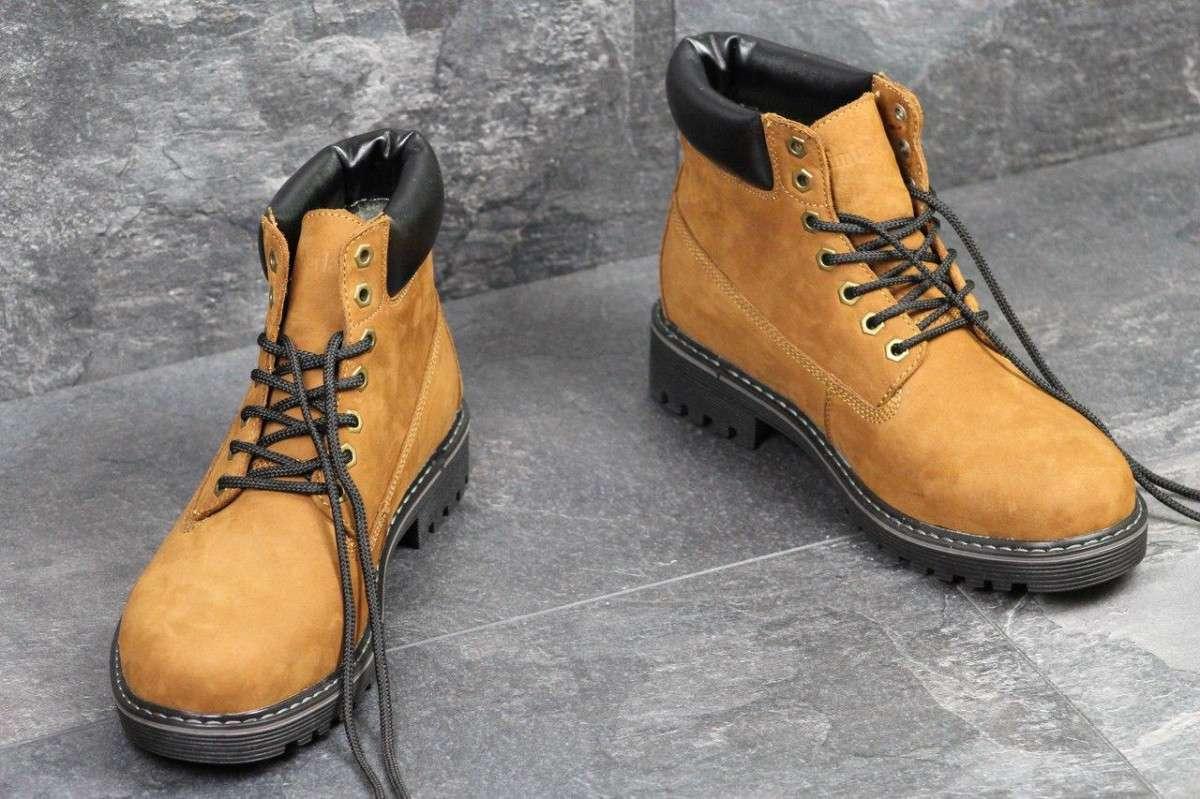 63adedcd Мужские зимние ботинки Timberland рыжие 3515: 1 161 грн - Мода и ...