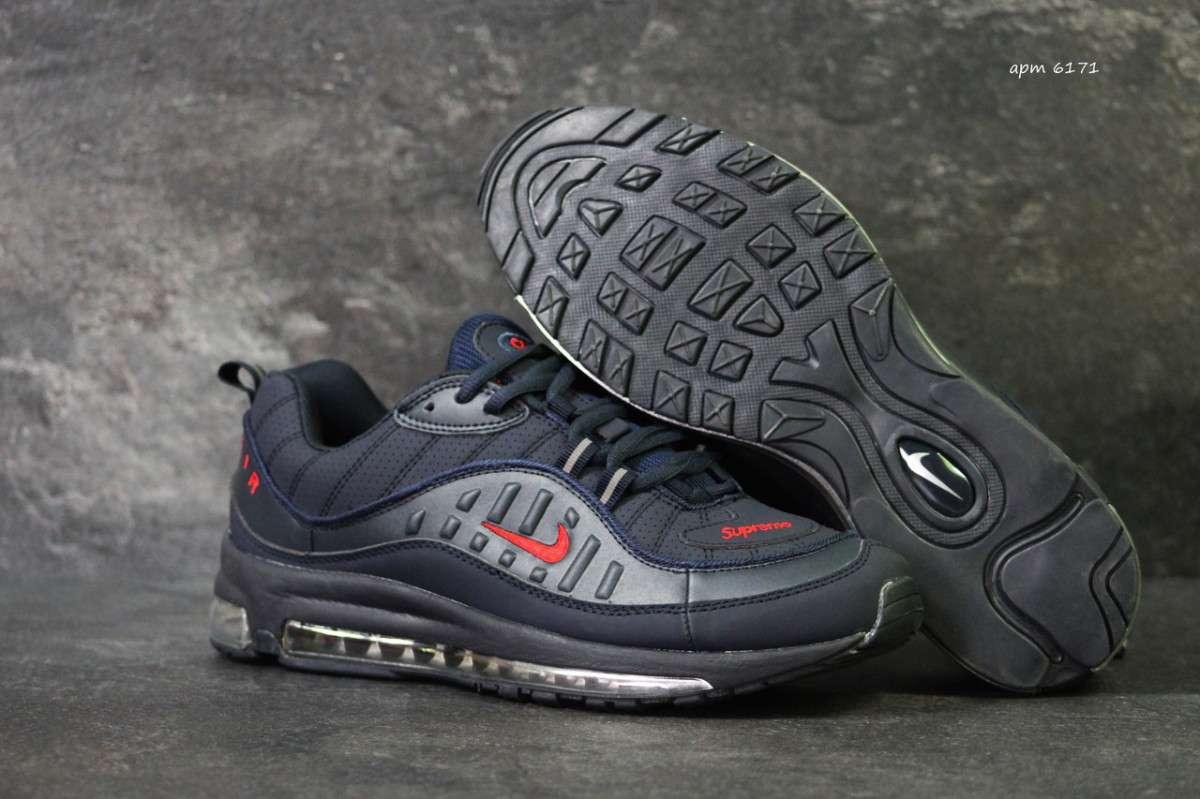 11d7cd74 Кроссовки мужские темно синие Nike Air Max 98 x...: 1 143 грн - Мода ...