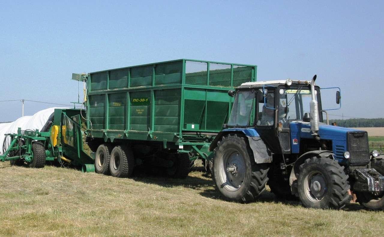Полуприцеп тракторный специальный ПС-30-1 (7 т) Бобруйскагромаш (Бело