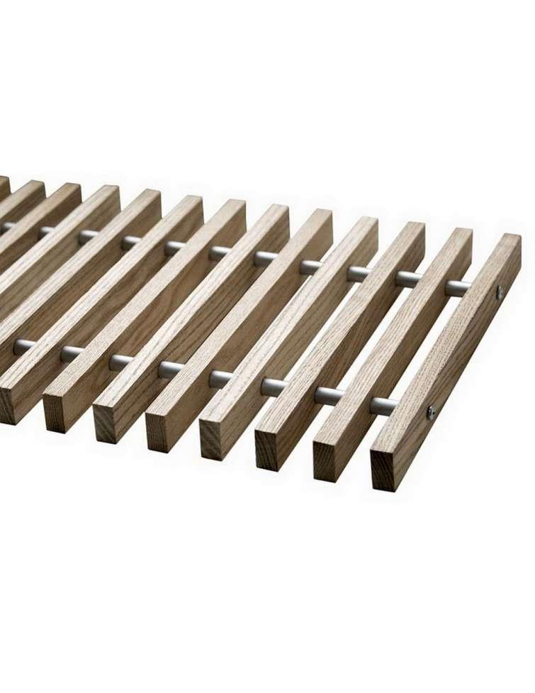 Решетка дубовая для конвекторов Polvax KV.PREMIUM.300.2750.90