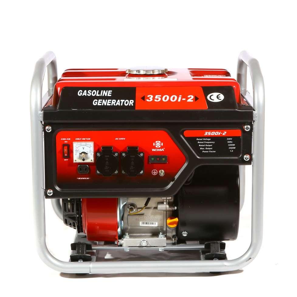 Генератор бензиновый инверторный WEIMA WM3500і (3,5 кВт, 1 фаза, ручно
