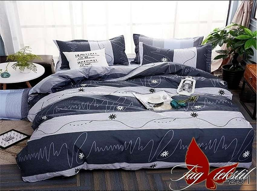 Семейный комплект постельного белья с компаньоном  S-251