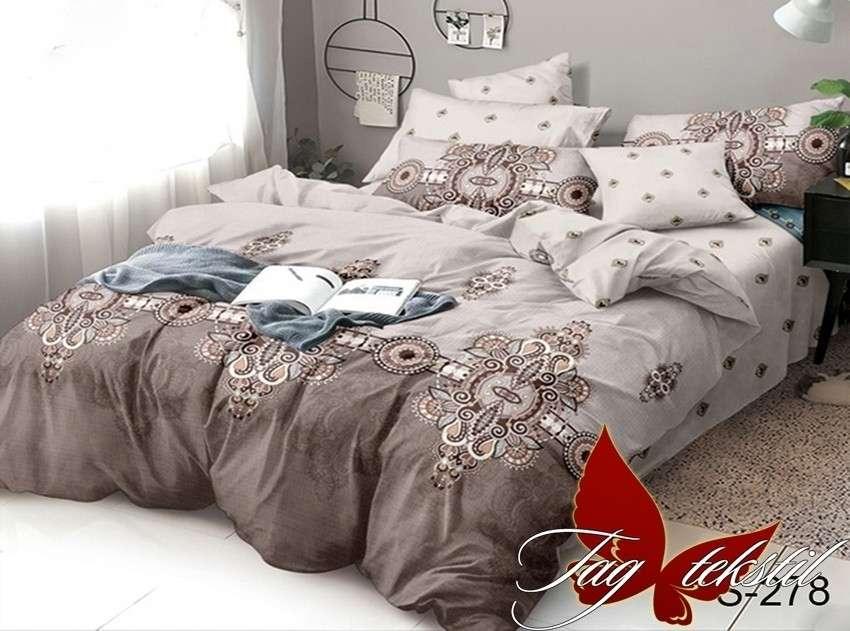 1,5-спальный комплект постельного белья с компаньоном S278